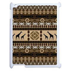 African Vector Patterns  Apple Ipad 2 Case (white) by Amaryn4rt