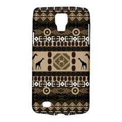 African Vector Patterns  Galaxy S4 Active by Amaryn4rt