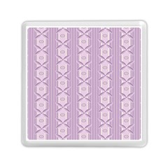 Flower Star Purple Memory Card Reader (square)