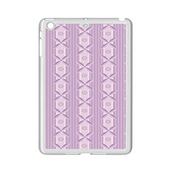 Flower Star Purple Ipad Mini 2 Enamel Coated Cases