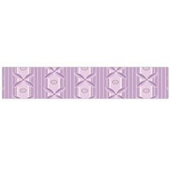 Flower Star Purple Flano Scarf (large) by Alisyart