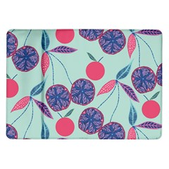 Passion Fruit Pink Purple Cerry Blue Leaf Samsung Galaxy Tab 10 1  P7500 Flip Case by Alisyart