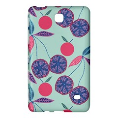Passion Fruit Pink Purple Cerry Blue Leaf Samsung Galaxy Tab 4 (8 ) Hardshell Case  by Alisyart