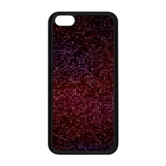 3d Tiny Dots Pattern Texture Apple Iphone 5c Seamless Case (black) by Amaryn4rt