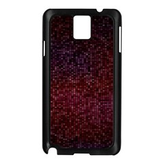 3d Tiny Dots Pattern Texture Samsung Galaxy Note 3 N9005 Case (black) by Amaryn4rt