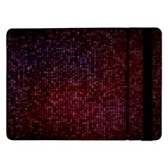 3d Tiny Dots Pattern Texture Samsung Galaxy Tab Pro 12 2  Flip Case by Amaryn4rt