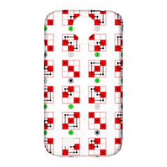 Permutations Dice Plaid Red Green Samsung Galaxy S4 Classic Hardshell Case (pc+silicone) by Alisyart