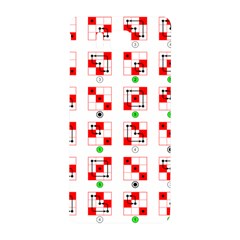 Permutations Dice Plaid Red Green Samsung Galaxy Alpha Hardshell Back Case