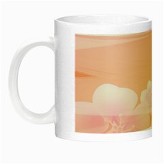 Season Flower Floral Pink Night Luminous Mugs