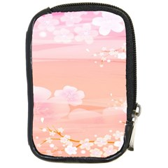 Season Flower Floral Pink Compact Camera Cases by Alisyart