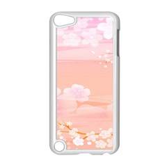 Season Flower Floral Pink Apple Ipod Touch 5 Case (white) by Alisyart