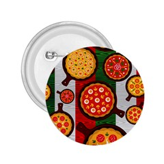 Pizza Italia Beef Flag 2 25  Buttons