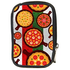 Pizza Italia Beef Flag Compact Camera Cases