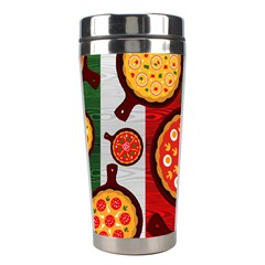 Pizza Italia Beef Flag Stainless Steel Travel Tumblers by Alisyart