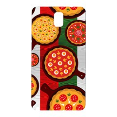 Pizza Italia Beef Flag Samsung Galaxy Note 3 N9005 Hardshell Back Case by Alisyart
