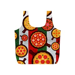 Pizza Italia Beef Flag Full Print Recycle Bags (s)  by Alisyart