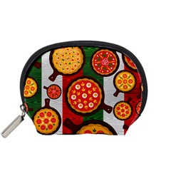 Pizza Italia Beef Flag Accessory Pouches (small)  by Alisyart