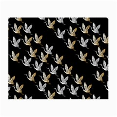 Goose Swan Gold White Black Fly Small Glasses Cloth (2 Side)