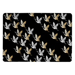 Goose Swan Gold White Black Fly Samsung Galaxy Tab 10 1  P7500 Flip Case
