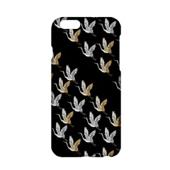 Goose Swan Gold White Black Fly Apple Iphone 6/6s Hardshell Case