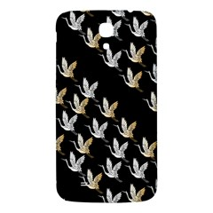 Goose Swan Gold White Black Fly Samsung Galaxy Mega I9200 Hardshell Back Case