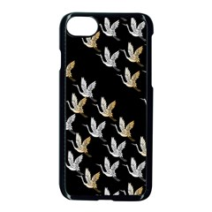 Goose Swan Gold White Black Fly Apple Iphone 7 Seamless Case (black) by Alisyart