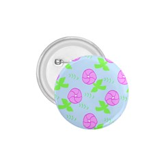 Spring Flower Tulip Floral Leaf Green Pink 1 75  Buttons by Alisyart