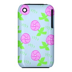 Spring Flower Tulip Floral Leaf Green Pink Iphone 3s/3gs by Alisyart