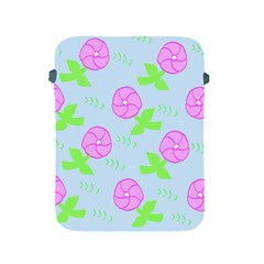 Spring Flower Tulip Floral Leaf Green Pink Apple Ipad 2/3/4 Protective Soft Cases