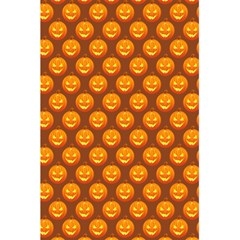 Pumpkin Face Mask Sinister Helloween Orange 5 5  X 8 5  Notebooks by Alisyart