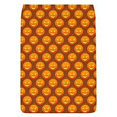 Pumpkin Face Mask Sinister Helloween Orange Flap Covers (s)  by Alisyart
