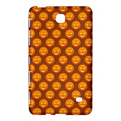 Pumpkin Face Mask Sinister Helloween Orange Samsung Galaxy Tab 4 (8 ) Hardshell Case  by Alisyart