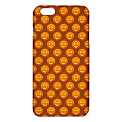 Pumpkin Face Mask Sinister Helloween Orange Iphone 6 Plus/6s Plus Tpu Case by Alisyart