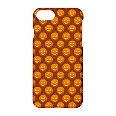 Pumpkin Face Mask Sinister Helloween Orange Apple Iphone 7 Hardshell Case by Alisyart