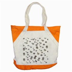 Flower Grey Jpeg Accent Tote Bag