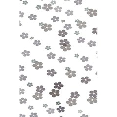 Flower Grey Jpeg 5 5  X 8 5  Notebooks