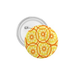 Lemons Orange Lime Circle Star Yellow 1 75  Buttons