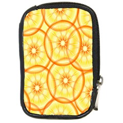 Lemons Orange Lime Circle Star Yellow Compact Camera Cases by Alisyart