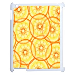 Lemons Orange Lime Circle Star Yellow Apple Ipad 2 Case (white)
