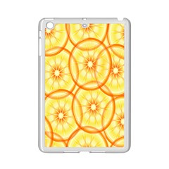 Lemons Orange Lime Circle Star Yellow Ipad Mini 2 Enamel Coated Cases