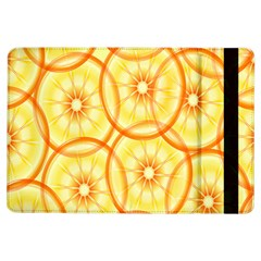 Lemons Orange Lime Circle Star Yellow Ipad Air Flip