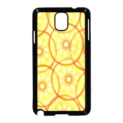 Lemons Orange Lime Circle Star Yellow Samsung Galaxy Note 3 Neo Hardshell Case (black) by Alisyart