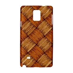 Vector Square Texture Pattern Samsung Galaxy Note 4 Hardshell Case by Amaryn4rt