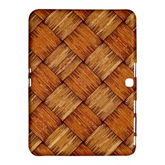 Vector Square Texture Pattern Samsung Galaxy Tab 4 (10 1 ) Hardshell Case  by Amaryn4rt