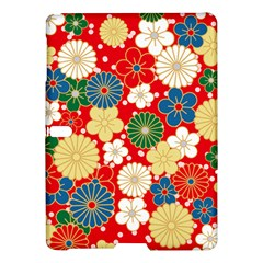 Season Flower Rose Sunflower Red Green Blue Samsung Galaxy Tab S (10 5 ) Hardshell Case