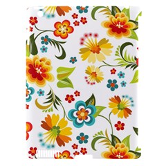 Flower Floral Rose Sunflower Leaf Color Apple Ipad 3/4 Hardshell Case (compatible With Smart Cover) by Alisyart