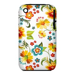 Flower Floral Rose Sunflower Leaf Color Iphone 3s/3gs by Alisyart