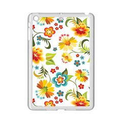 Flower Floral Rose Sunflower Leaf Color Ipad Mini 2 Enamel Coated Cases