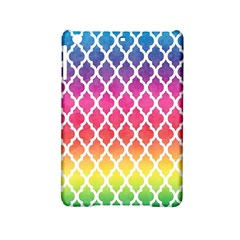 Colorful Rainbow Moroccan Pattern Ipad Mini 2 Hardshell Cases by Amaryn4rt