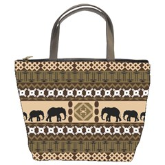 African Vector Patterns  Bucket Bags by Amaryn4rt